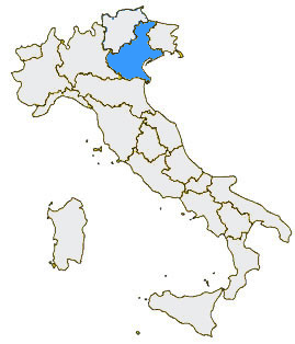 Veneto Regione Cartina.Veneto Regione Veneto Veneto Informazioni Turistiche Hotel Alberghi Ristoranti